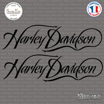 2 Stickers Harley Davidson