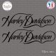 2 Stickers Harley Davidson sticks-em.fr