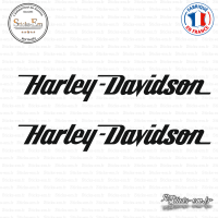 2 Stickers Harley Davidson Logo sticks-em.fr
