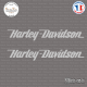 2 Stickers Harley Davidson Logo sticks-em.fr