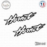2 Stickers Hornet sticks-em.fr