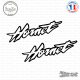 2 Stickers Hornet