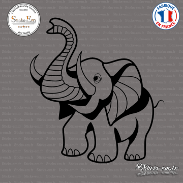Sticker Eléphant