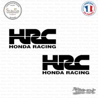 2 Stickers HONDA HRC
