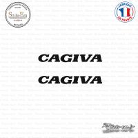 2 Stickers Cagiva Sticks-em.fr Couleurs au choix
