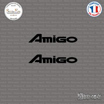 2 Stickers Isuzu Amigo