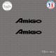 2 Stickers Isuzu Amigo Sticks-em.fr Couleurs au choix