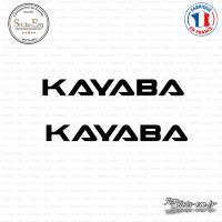 2 Stickers Kayaba V2