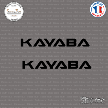 2 Stickers Kayaba V2