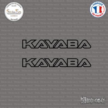 2 Stickers Kayaba
