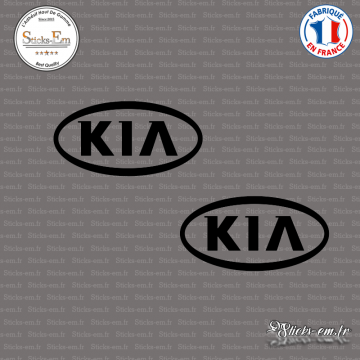 2 Stickers kia