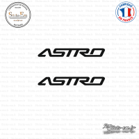 2 Stickers Chevrolet GM Astro Sticks-em.fr Couleurs au choix