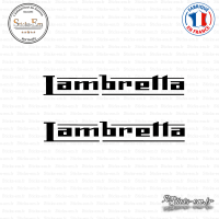 2 Stickers Lambretta
