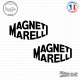 2 Stickers Magneti Marelli logo Sticks-em.fr Couleurs au choix