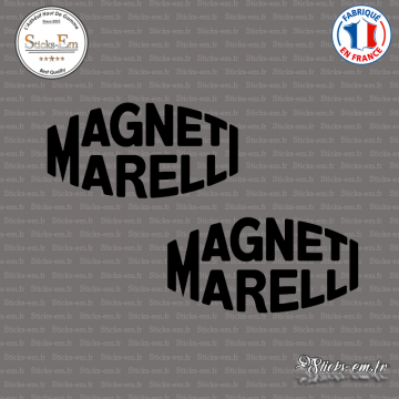 2 Stickers Magneti Marelli logo