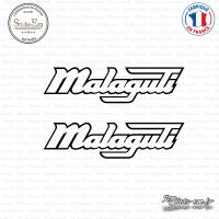 2 Stickers Malaguti