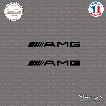 2 Stickers AMG