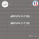 2 Stickers AMG Sticks-em.fr Couleurs au choix