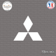 Sticker Mitsubishi logo Sticks-em.fr Couleurs au choix