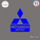 Sticker Mitsubishi Sticks-em.fr Couleurs au choix