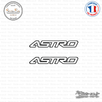 2 Stickers Chevrolet Logo GM Astro Sticks-em.fr Couleurs au choix