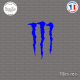 Sticker M Monster energy Sticks-em.fr Couleurs au choix