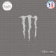 Sticker M Monster energy sticks-em.fr