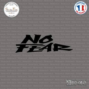 Sticker No Fear Logo