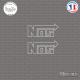 2 Stickers NOS V2 Sticks-em.fr Couleurs au choix