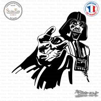 Sticker Darth Vader Sticks-em.fr Couleurs au choix