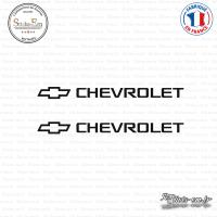 2 Stickers Chevrolet Logo
