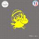 Sticker Calimero doigt Sticks-em.fr Couleurs au choix