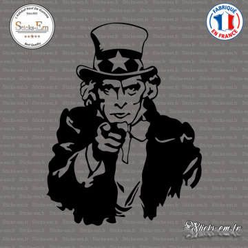 Sticker Uncle Sam