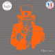 Sticker Uncle Sam Sticks-em.fr Couleurs au choix