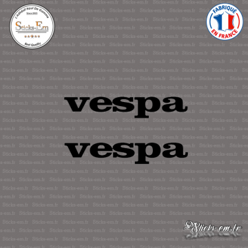 2 Stickers vespa