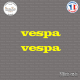 2 Stickers vespa Sticks-em.fr Couleurs au choix