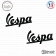 2 Stickers vespa Logo Sticks-em.fr Couleurs au choix