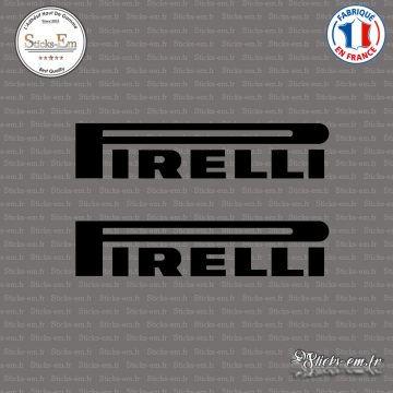 2 Stickers Pirelli