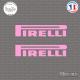 2 Stickers Pirelli Sticks-em.fr Couleurs au choix