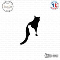 Sticker Silhouettes de chats Sticks-em.fr Couleurs au choix