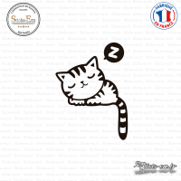 Sticker Chaton Sticks-em.fr Couleurs au choix