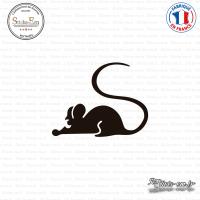 Sticker Souris Sticks-em.fr Couleurs au choix