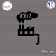 Sticker Usine CO2 sticks-em.fr