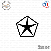 Sticker Chrysler Sticks-em.fr Couleurs au choix