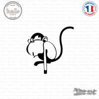 Sticker Monkey Sticks-em.fr Couleurs au choix