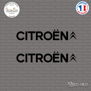 2 Stickers Citroën