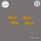 4 Stickers JDM illest Sticks-em.fr Couleurs au choix