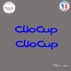 2 Stickers Renault Clio Cup sticks-em.fr