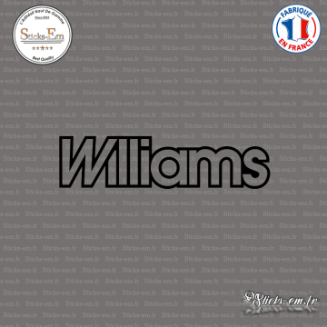 Sticker Renault Williams