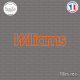 Sticker Renault Williams Sticks-em.fr Couleurs au choix